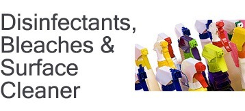 Disinfectants, Bleaches & Surface Cleaner