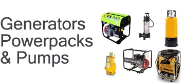 Generators, Powerpacks & Pumps