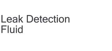 Leak Detection Fluid