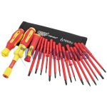 Ergo Plus® Interchangeable VDE Torque Screwdriver Set (19 Piece)