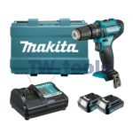 Makita HP333DWAE 12Vmax COMBI DRILL CXT KIT