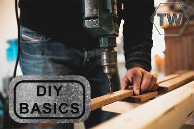 DIY Basics: How to use a power drill
